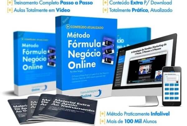 Curso Fórmula Negócio Online Funciona