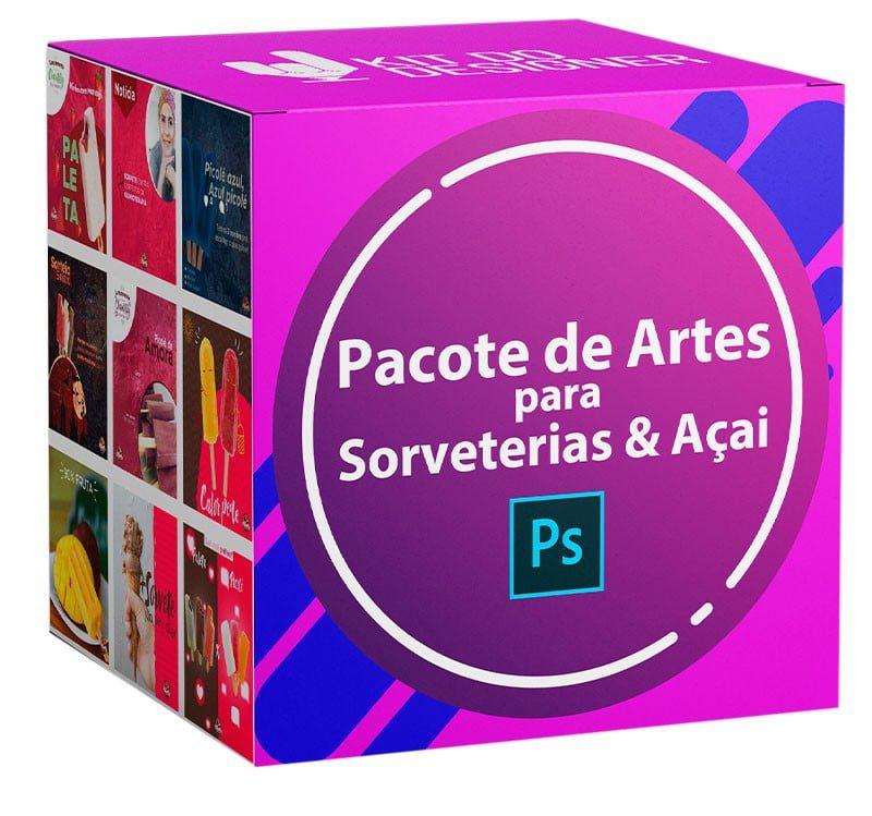 150 Artes para Açaiterias