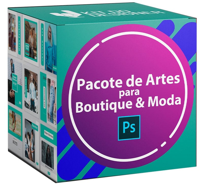 150 Artes para Boutique & Moda