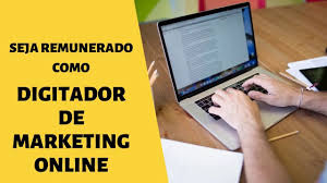 Digitador de Marketing Online - Renda Extra trabalhando de casa