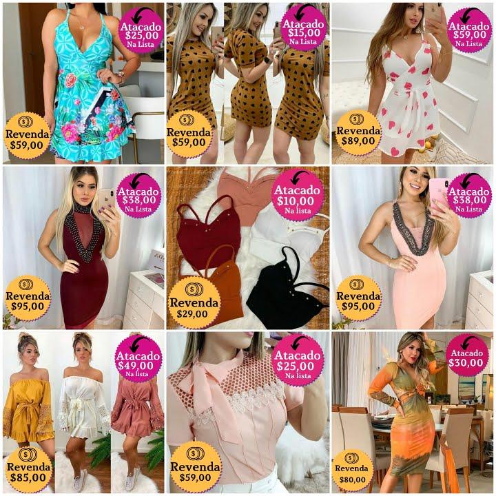 fornecedores de roupa moda feminina