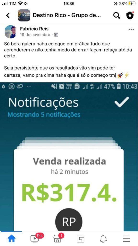 Destino RICO do Tiago Gomes vale a pena