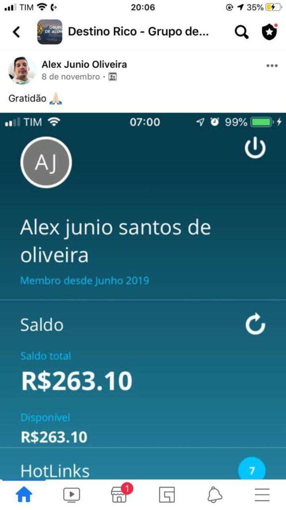 Destino RICO do Tiago Gomes é bom