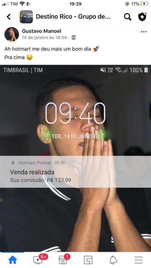 Destino RICO do Tiago Gomes preço