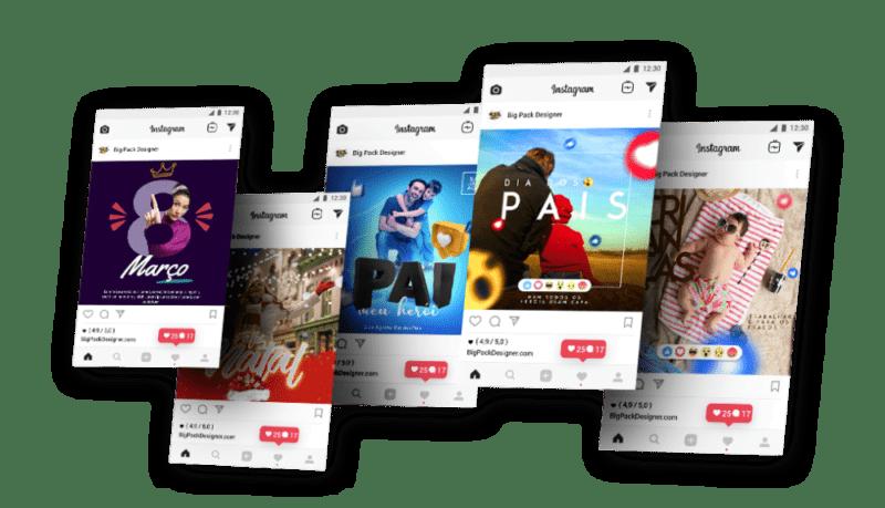 Big Pack Designer - Design de Sucesso Arquivos Editáveis para Photoshop, CorelDraw, Illustrator, InDesign, LightRoom, After Effects e Adobe Premiere