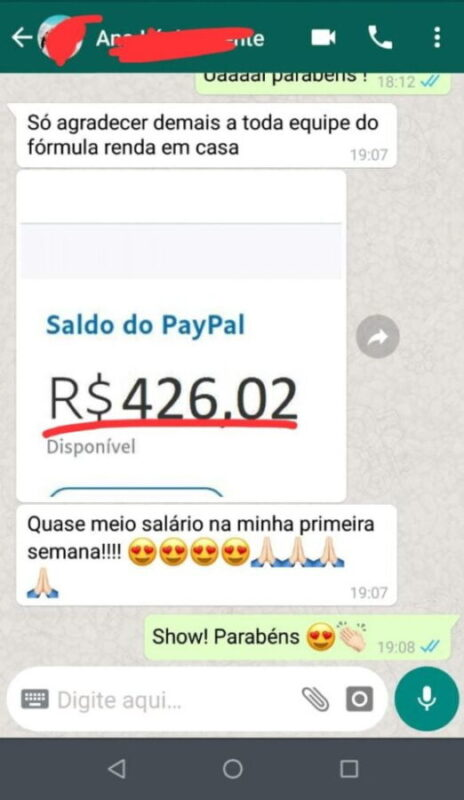 fórmula digitador online