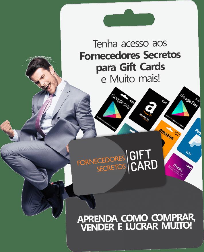 Fornecedores de GiftCard