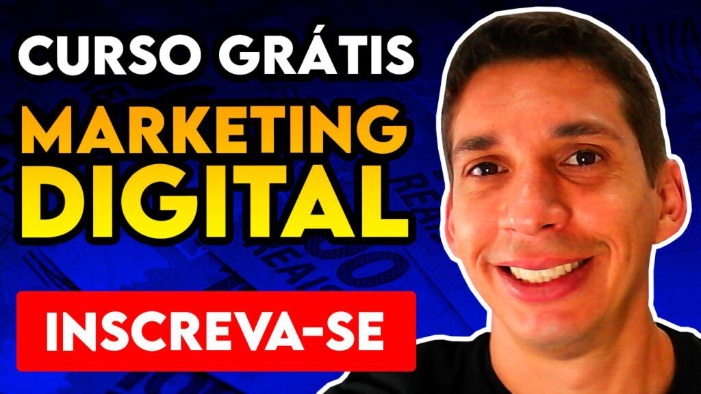 Curso de Marketing Digital Grátis INSCREVA-SE
