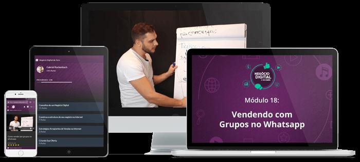 Vendendo com Grupos no Whatsapp