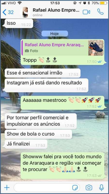 CURSO EMPRESÁRIOS DA MODA reclame aqui