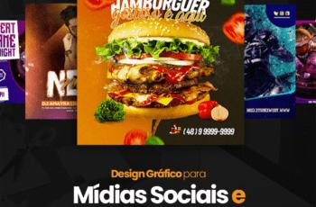 Design Gráfico para Mídias Sociais e Impressões Gráficas