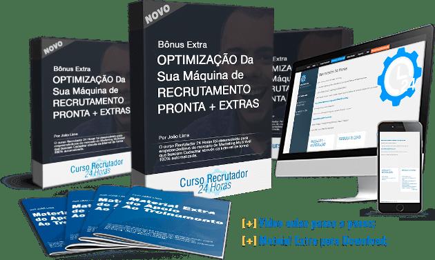 Otimização da Sua Máquina de Recrutamento Pronta + Extras