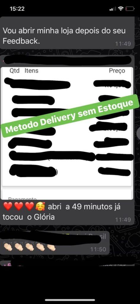 Método Delivery Sem Estoque garantia