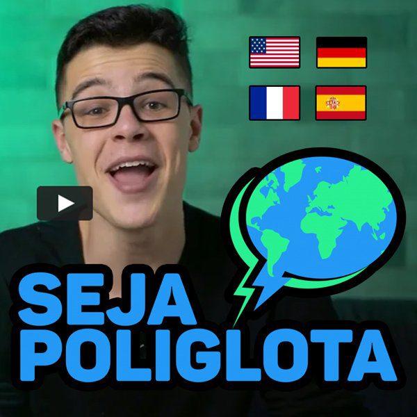 Combo de Cursos Seja Poliglota