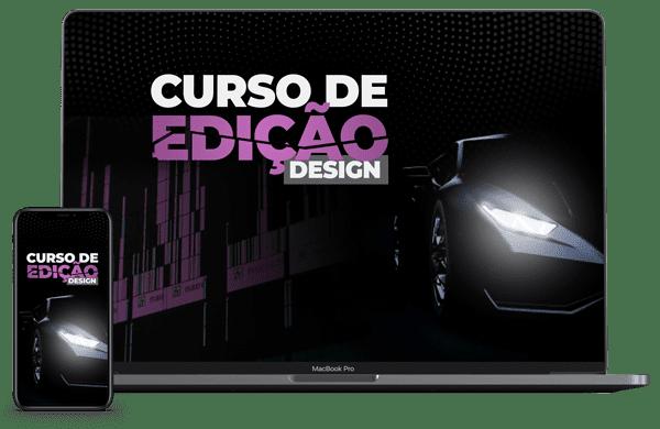 CURSO DE EDIÇÃO/DESIGN