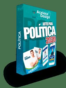 Centenas de artes para Campanha Política