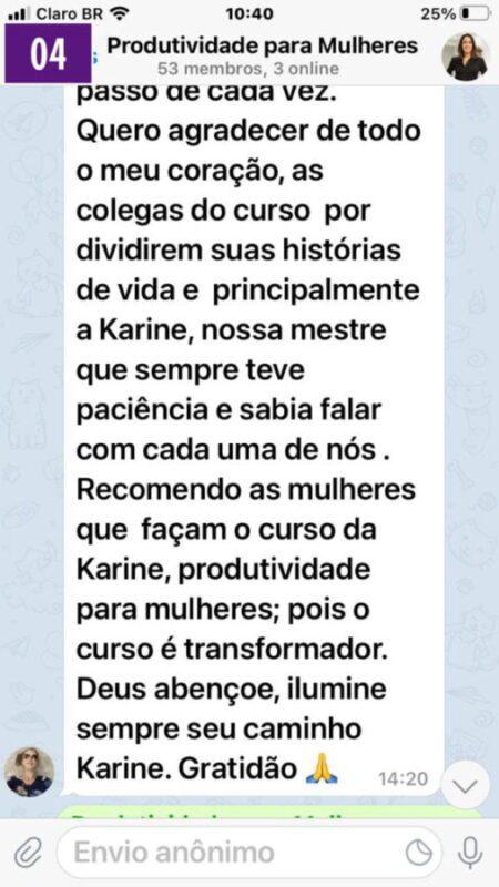Curso Karina Duarte