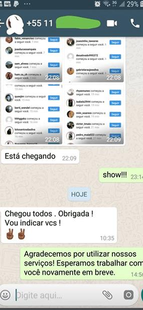 Agenciagram Seguidores Reais para Instagram