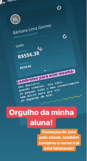 Curso O Mapa do Nômade Digital depoimentos