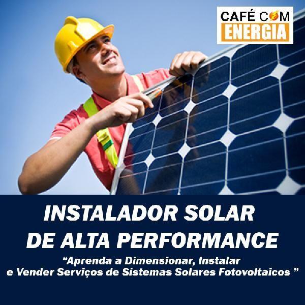 Curso ENERGIA SOLAR - Instalador Solar de Alta Performance do Vanisio Pinheiro