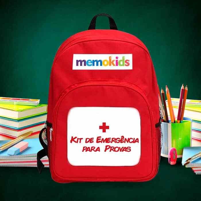 Curso Memokids - Kit de Emergência para Provas