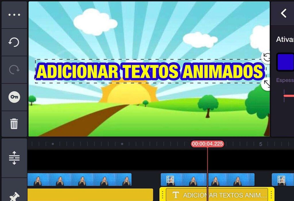 Colocar Legendas e Textos Animados nos Vídeos