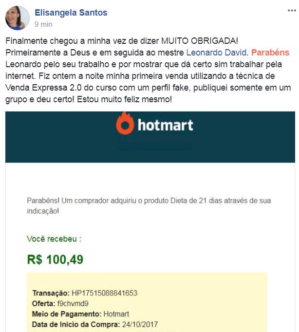 resultado vendas hotmart monetizze