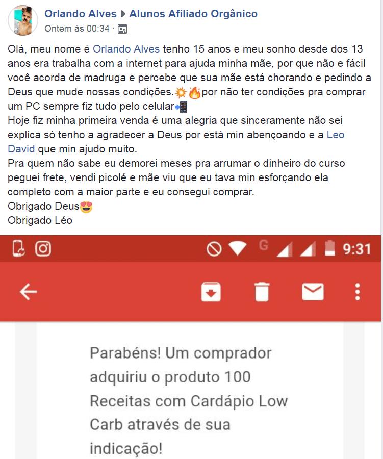 Curso De Marketing Digital Para Afiliados Leonardo David funciona