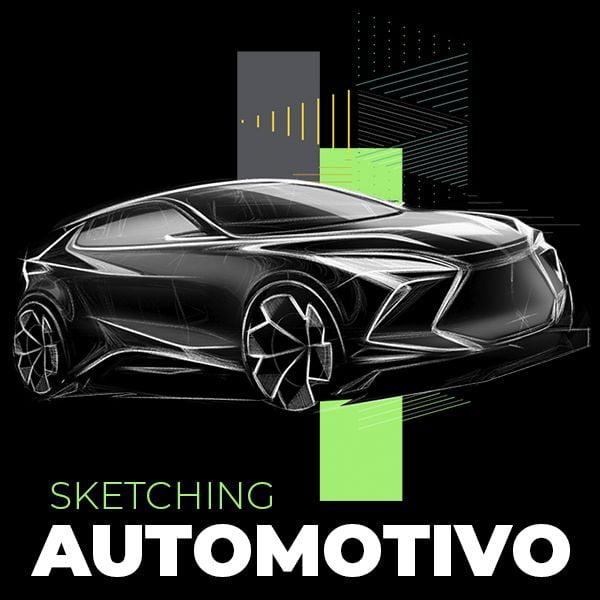 Curso Sketching Automotivo