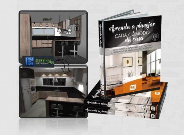 E-book como planejar cada cômodo com o SketchU