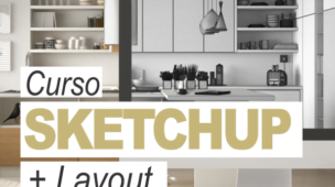 Curso SketchUp Online + Layout