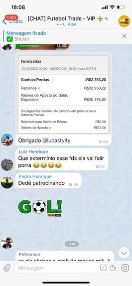 Estratégia Trader - Futebol Trade - Lucas Tylty