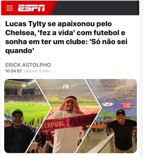 Lucas Tylty - ESPN