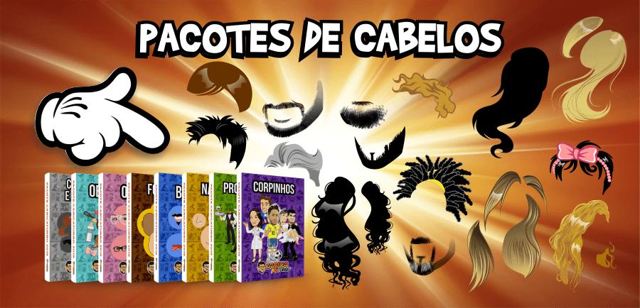 Pacote de Cabelos - Caricaturbo Elite 21
