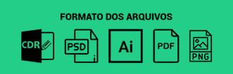 artes prontas e editáveis dos formatos arquivos
