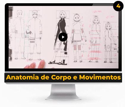 Anatomia de Corpo e Movimentos