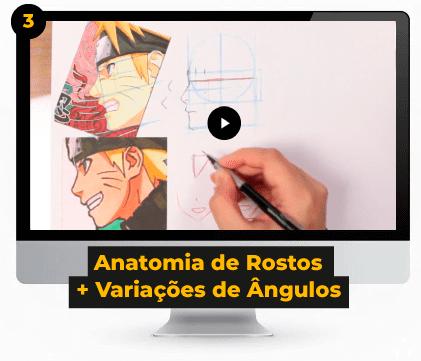 Anatomia de Rosto + Variações de Ângulo