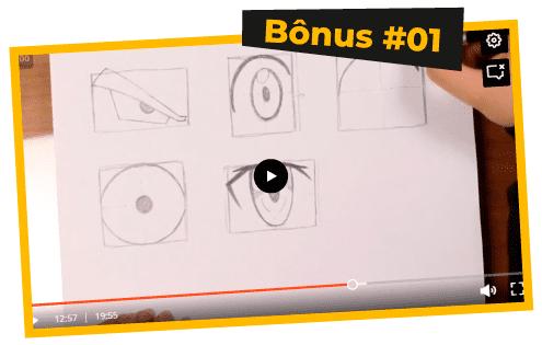 O segredo de desenhar olhos