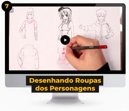 Desenhando Roupas dos Personagens