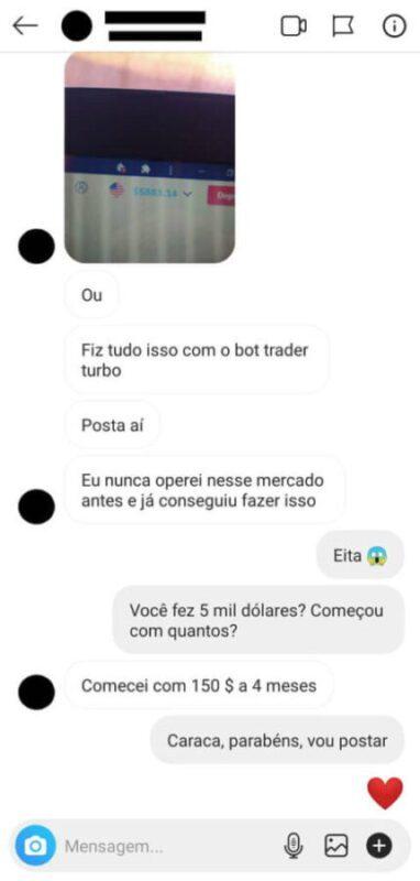 Método Trader Turbo resultado