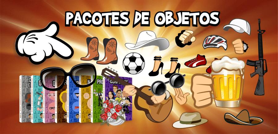 Pacote de Objetos - Caricaturbo Elite 21