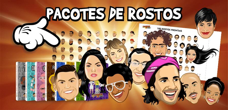 Pacote de Rostos - Caricaturbo Elite 21
