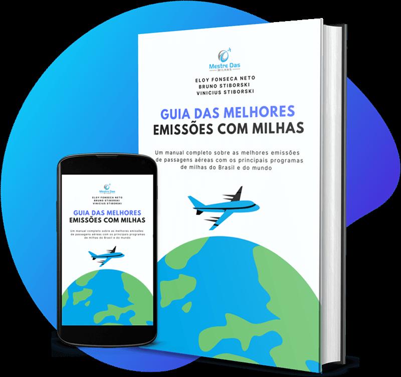 Livro digital Guia das Melhores Emissões de Passagens com Milhas