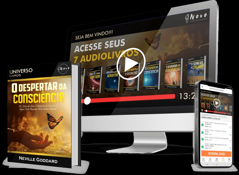 O Despertar da Consciência - Neville Goddard livro + audiobook