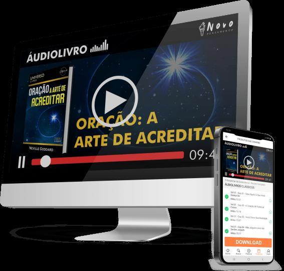 Oração: A Arte de Acreditar Audiobook Neville Goddard