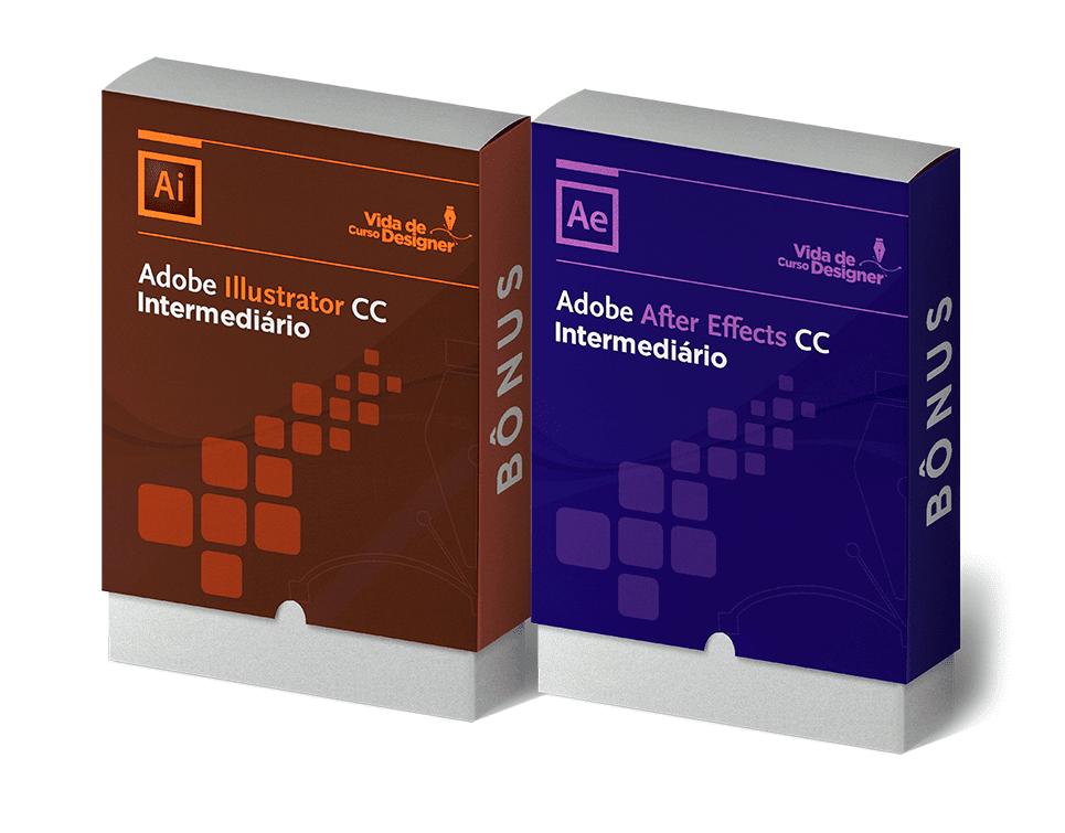 Adobe Illustrator + Adobe After Effects