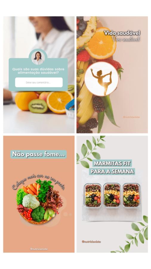 Pacote de Artes para Nutricionista